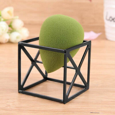 Display Sponge Powder Beauty Holder Drying Stand Makeup Puff Rack Square Base