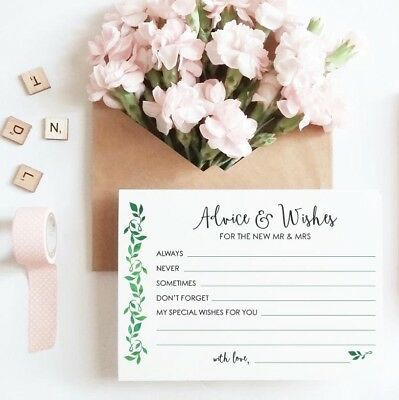 Wedding Card Wishes.Advice Cards For Mr Mrs Happy Couple Wedding Card Guest