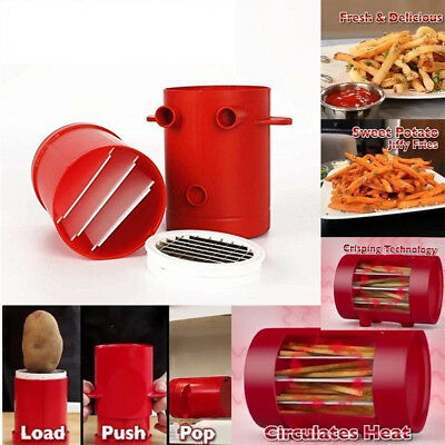 Potato Fries Maker 2-in-1 Microwave Potato Slicers French Fries Maker Cutter ML5