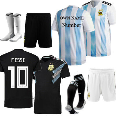 2018 Kids Football Kits Soccer Suits Jerseys For 3-14YRS Boys Child Adults SML