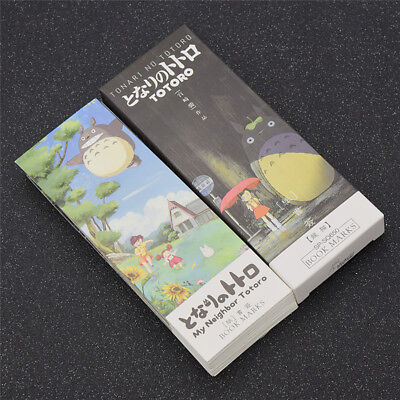Lot de 32 Marque-pages My Neighbor Totoro Signets Papier Anime Fan Cadeau Enfant