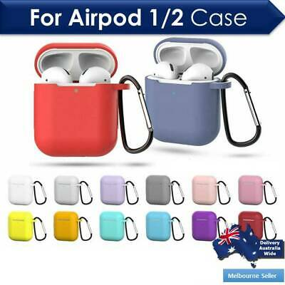 Strap Holder / Silicone Case Cover Skin For Apple Airpod Accessories Airpods