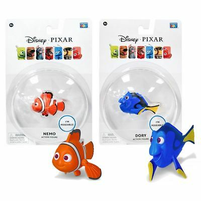 New Pixar Finding Nemo Or Dory Poseable Action Figure Disney Official