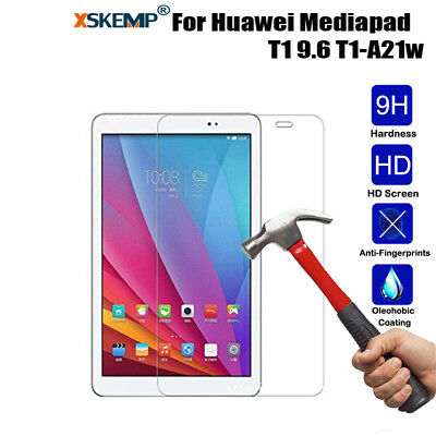 HD Tempered Glass Protective Film For Huawei MediaPad T1 10 T1-A21w Tablet 9.6''