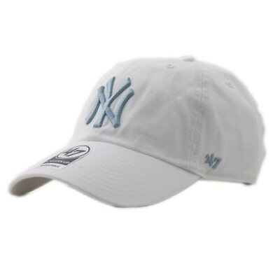 de09a9688 CAP 47 BRAND Mlb New York Yankees Clean Up Curved V Relax Fit Pink ...
