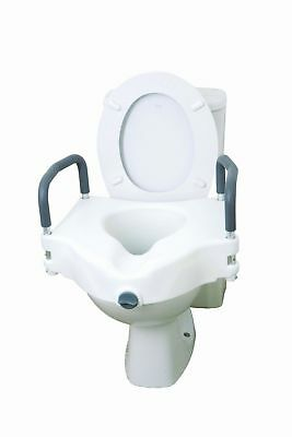 Drive 2 In 1 Elevated Toilet Seat Removable Arms Raised Disability Aid
