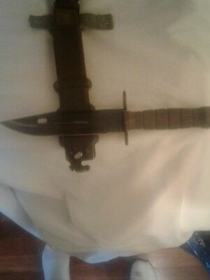 Lancay M9 Battle Knife / Bayonet and Scabbard
