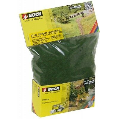 Noch - Wild Grass, Dark Green (6mm - 50gr