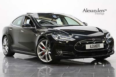 2015 Tesla Model S P90D Performance Ludicrous Auto [7 Seat] Electric black Autom