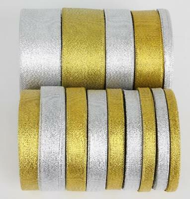 Glitter Effect Sparkle Metallic Gold/Silver Wedding Party Gift Wrapping