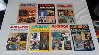 Jukebox L'argus Du Disque  Serie De 7 Volumes Ep Lp Francais & Etranger Tbe