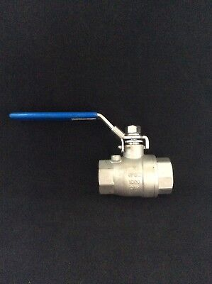 "1"" Inch Female NPT Full Port Ball Valve  CF8M SS316 Stainless Steel"