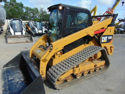 "2015 Cat 299D Turbo 2 Spd Wide Track ""super Loaded"" Cold A/c Cab - Hyd Coupler"