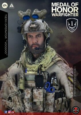 Soldier Story 1/6 SS106 Medal Of Honor Tier One Operator Navy SEAL Voodoo Figure