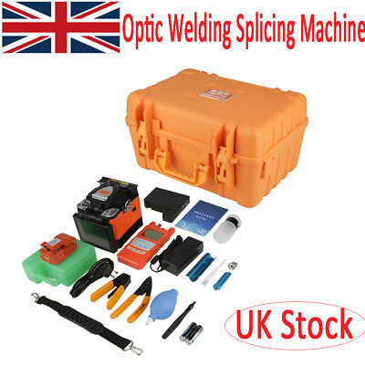 A-80S Fiber Optical Welding Splicing Machine Fiber Fusion Splicer Kit 50/60Hz