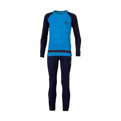 Odlo Kids God Set Juniors Baselayer Sets Compression Armor Thermal Skins