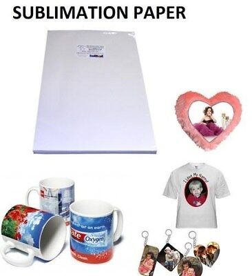 Transfer paper Dye Sublimation 300 sheets.8.5x11 #1 Seller in USA
