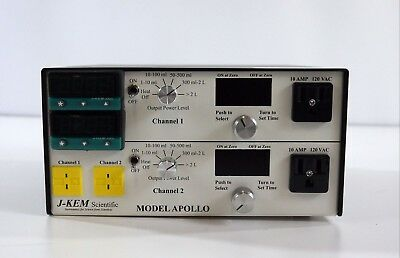 J-Kem Scientific Dual Temperature Controller MODEL APOLLO