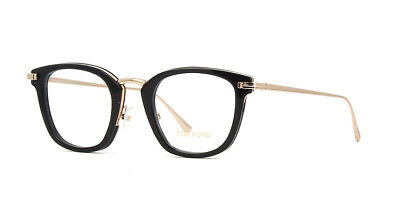 2ccedcaaf06a AUTHENTIC TOM FORD Eyeglasses TF5496 001 Black Frames 47MM Rx-ABLE ...