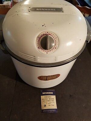 Vintage-Kenmore-Portable-Auger-Electric-Washing-Machine-Sears-and-Roebuck