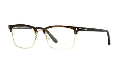 31c9bd5e772 Authentic Tom Ford Eyeglasses TF5504 052 Dark Havana Gold Frames 54MM  Rx-ABLE