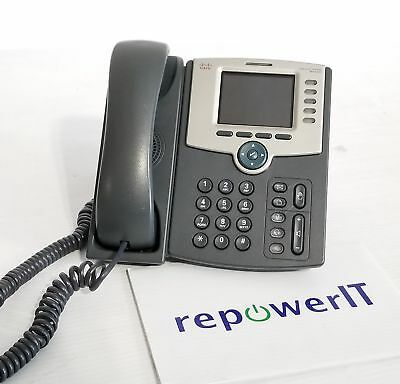 Cisco SPA525G2 5-Line Business Color VoIP Phone with WiFi • Tested & Reset • QTY