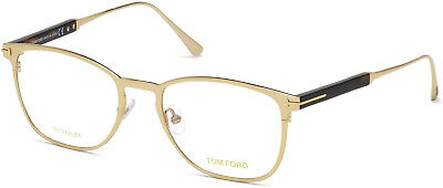 97825df725 Authentic Tom Ford Eyeglasses TF5483 028 Shiny Rose Gold Frames 52MM Rx-ABLE