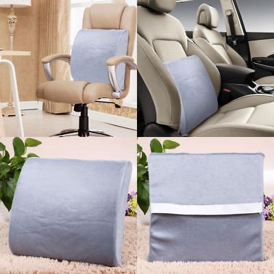 Lower Back Support Pillow Lumbar Cushion Memory Foam Seat Car Pillow Pain Help