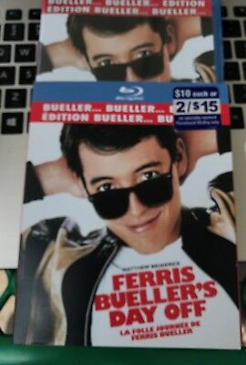 Ferris Buellers Day Off (Blu-ray Disc, 2009 Canadian I Love the 80s Edition) NEW