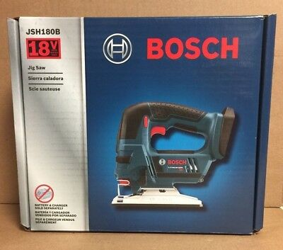 Bosch JSH180B 18V Compact Cordless Lithium-Ion Jigsaw (Bare Tool) New in Box