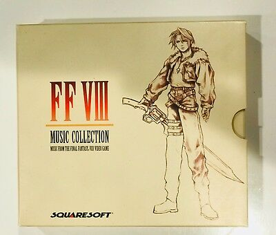 Final Fantasy VIII Music Collection: Music From Video Game 4 Discs Set