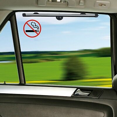 6x Clear No Smoking Stickers REUSABLE Sign Glass Internal or External Car Taxi