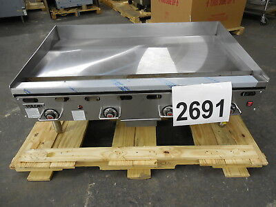"2691-New S/D - Vulcan Thermostatic 48"" Griddle, Electronic Ignition Model: 948RX"