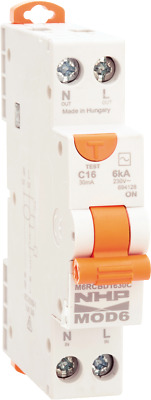 Nhp Mod6 Rcbd Rcd/mcb Combination In 10A,16A Or 20A