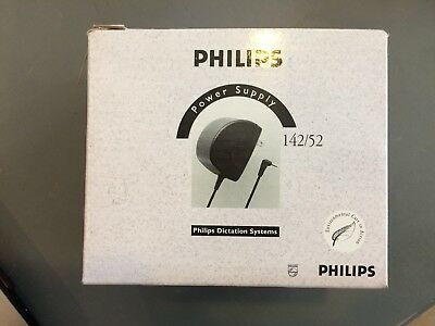 FAST SHIP Philips power supply LFH 140/72 for dictating machine - 3v AC adapter