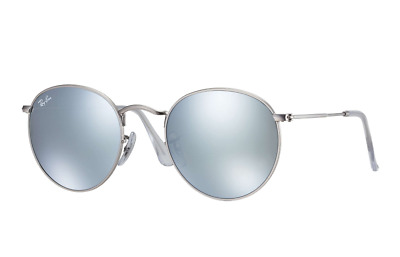 Ray Ban Round Silver Flash Lens 3447 019/30 50mm