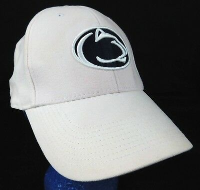 92d69a3fb4349 Penn State Nittany Lions Nike White Pink 1 Size Legacy 91 Baseball Cap Hat  NCAA