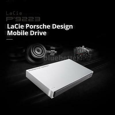 """Lacie Silver 1TB USB 3.0 Mobile Hard Drive HDD 2.5"""" STET1000400 for Mac PC X8N2"""