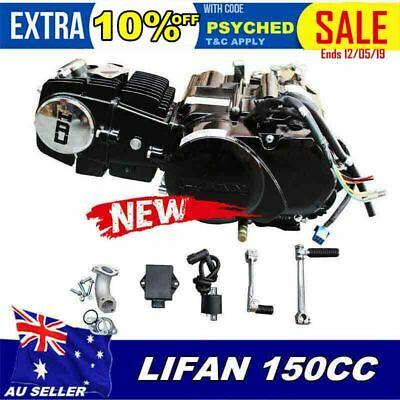 LIFAN 150CC OIL COOLED ENGINE MANUAL MOTOR For CRF50 XR50 SDG SSR PIT DIRT BIKE