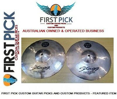 13 inch Stagg  SH Heavy Duty - Hand made  High Hat  Cymbals (pair)
