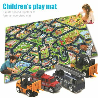 Baby Carpet Playmat Car Toy City Life Game Rug Children Playing Mat Kids Gift