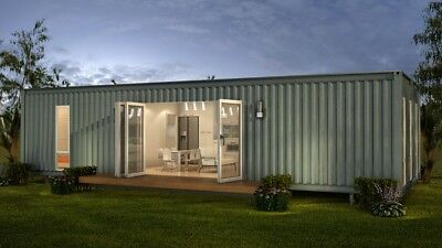 40 Ft Shipping Container Home 1 Bd Bth With Kitch Liv 320