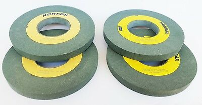 1x Norton Sanding Discs 39C120 D=200 x 20 x 76,2mm Kvk or Kvs New