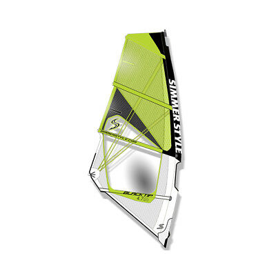 Simmer Blacktip 2017 Yellow 5,9 m² Windsurfsegel Windsurf Sail Segel SALE
