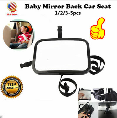 Baby Car Seat Rear View Mirror Facing Back Infant Kids Child Toddler Safety BT#