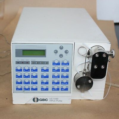 GBC LC1120/1150 HPLC PUMP high performance solvent delivery system