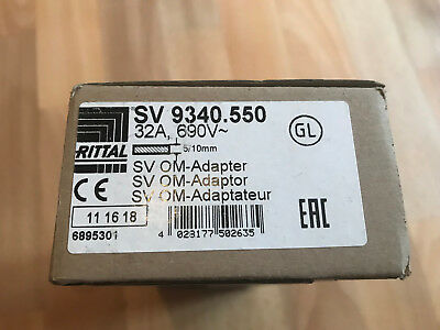Rittal OM-Adapter / Type : SV 9340.550/32 A, 690V / NEUF / Emballage d'origine