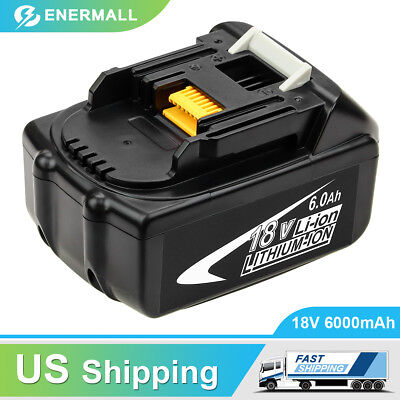 BL1860 Replace for Makita 18V Battery 6.0AH BL1830 BL1840 BL1845 BL1850 Lxt-400