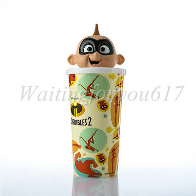 Disney Incredibles 2 Jack-Jack Parr Doll Cup 22oz Exclusive Theater Collectible