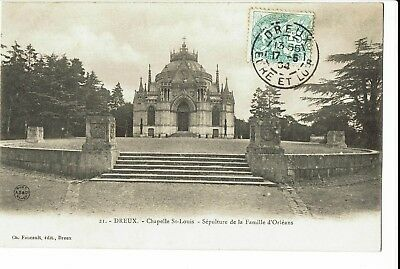 CPA-Carte postale-FRANCE - Dreux - Chapelle Saint-Louis -1904   S281